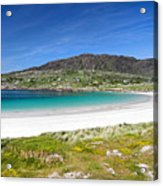 The Turquoise Water Of Dogs Bay Roundstone Ireland Acrylic Print