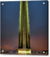 The Ultimate Sacrifice Liberty Memorial Kansas City Missouri Art Acrylic Print