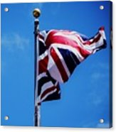The Flag Of Great Britain Acrylic Print
