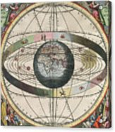 The Universe Of Ptolemy Harmonia Acrylic Print by Science Source