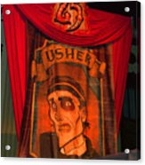 The Usher Hhn 25 Acrylic Print