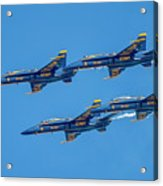 The Usn Blue Angels Acrylic Print