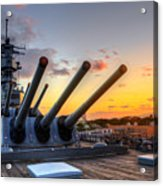 The Uss Missouri's Last Days Acrylic Print