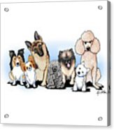 The Usual Suspects 3 Acrylic Print