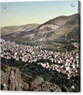 The Vale Of Nablus Acrylic Print