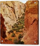 The Valley Of Fire 126 Acrylic Print
