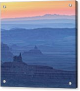 The Valley Of The Gods Acrylic Print