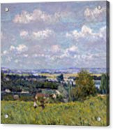 The Valley Of The Seine At Saint Cloud Acrylic Print