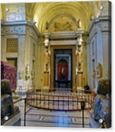 The Vatican Museum In The Vatican City Acrylic Print