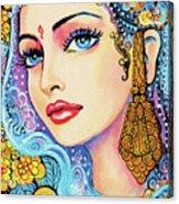 The Veil Of Aish Acrylic Print