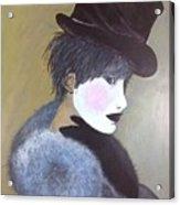The Velvet Hat Acrylic Print