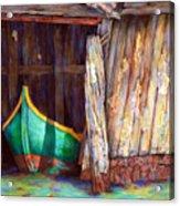 The Venetian Boathouse Acrylic Print