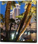 The Venetian Hotel And Casino Las Vegas Acrylic Print