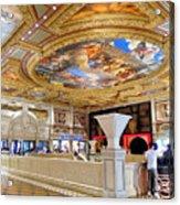 The Venetian Hotel Lobby Acrylic Print