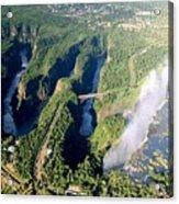 The Vic Falls Gorge Acrylic Print