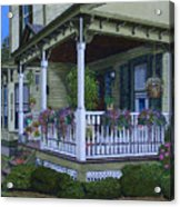 The Victorian Porch Acrylic Print