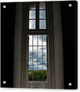 The View Form Within-color. Acrylic Print