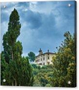 The Views From The Boboli Gardens Acrylic Print
