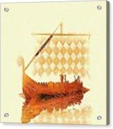 The Viking Ship Acrylic Print