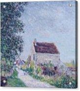 The Village Of Sablons Acrylic Print