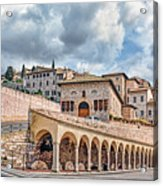 The Village Of St. Francis Of Assisi Acrylic Print