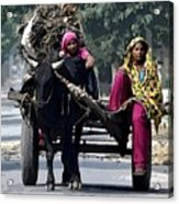 The Village Women  Acrylic Print