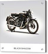 The Vincent Black Shadow Acrylic Print