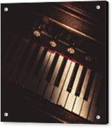 The Vintage Music Hall Acrylic Print