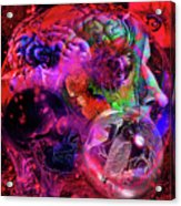 The Violent Mind Acrylic Print