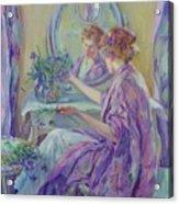 The Violet Kimono 1911 Acrylic Print