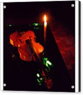 The Violin Acrylic Print