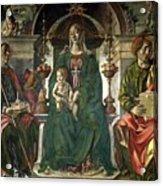 The Virgin And Saints Acrylic Print