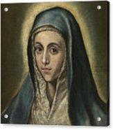 The Virgin Mary Acrylic Print