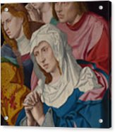 The Virgin Saints And A Holy Woman Acrylic Print