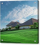 The Virtues Golf Course Clubhouse Acrylic Print