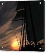 The Voyage Home  Acrylic Print