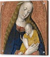The Vrigin And Child Acrylic Print