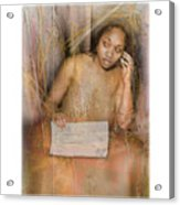 The Wading Acrylic Print
