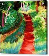 The Walking Trail Acrylic Print