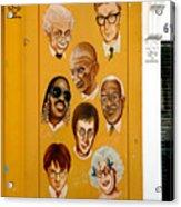 The Wall Of Fame Acrylic Print