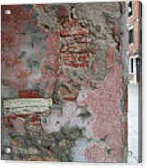 The Walls Of Venice Acrylic Print
