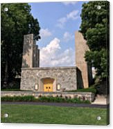 The War Memorial Chapel At Virginia Tech Acrylic Print