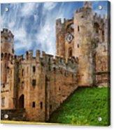 The Warwick Castle Acrylic Print