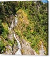 'the Water Of Life' Spring At Doubtful Sound Acrylic Print