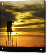 The Water Tower Acrylic Print