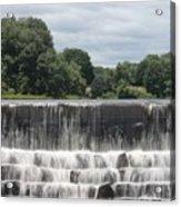 The Waterfall - Harrisville Acrylic Print
