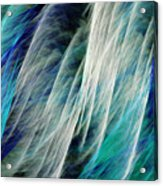 The Waterfall Abstract Acrylic Print