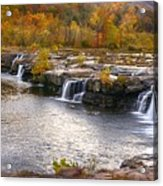 The Waterfalls Acrylic Print
