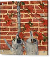 The Watering Cans Acrylic Print