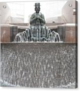 The Waterman Fountain Acrylic Print